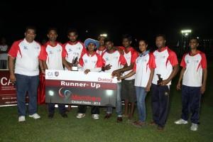 The Runners Up - KPMG Team