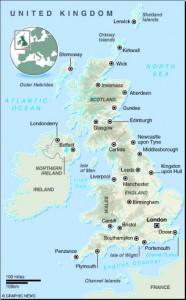 MAP: United Kingdom