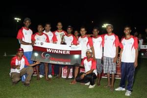 Winner of the Tournament - EY Seven Stars