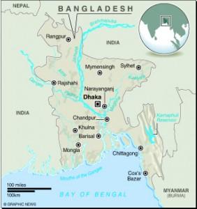 MAP: Bangladesh
