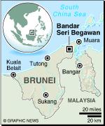 MAP: Brunei