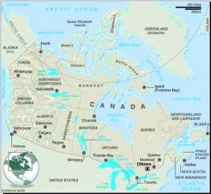 MAP: Canada