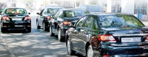Away they go:Test run for VVIP vehicles on Saturday