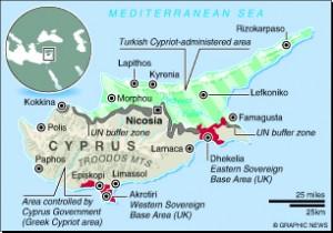 MAP: Cyprus