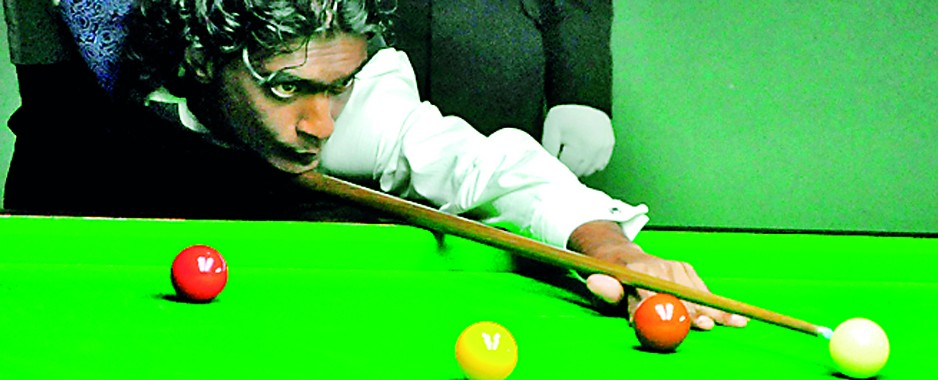 Penniless Susantha taking part in Snooker World Championships in Latvia