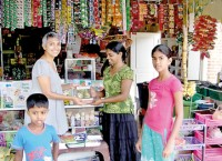Library in village shop: Spreading the word among fives to 95s