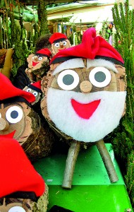 Catalonians have the Tio de Nadal, otherwise known as the 'pooping log'. Decorated with a face and blanket, on Christmas Eve the log is placed halfway into a fire and beaten with sticks (© CC BY-SA 2.0 '  Tió  ' by arquera)