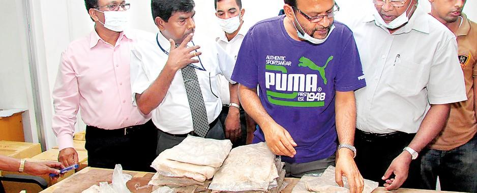 Biggest drug haul: Kick the  habit, no more political chits