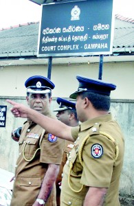 Police officers have come under fire for their servility to politicos