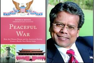"Author Patrick Mendis and his book, ""Peaceful War"""