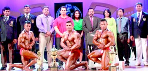 Aluthge and SLVBOC accuse, Kapila Kumara (right) has brought nothing but disgrace to the sport, despite SLBBF held its annual Mr. Sri Lanka contest, with the blessings of Ministry of Sports. - File pic