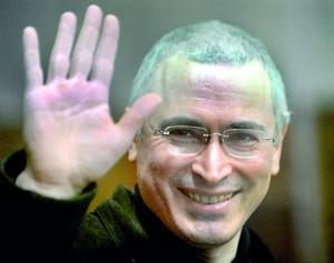 former tycoon and bitter Kremlin critic Mikhail Khodorkovsky. AFP file photo