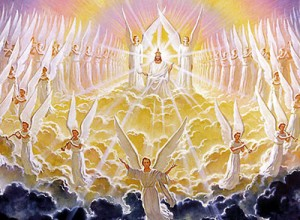 Artist's depiction of the second coming of Jesus Christ (AFP)