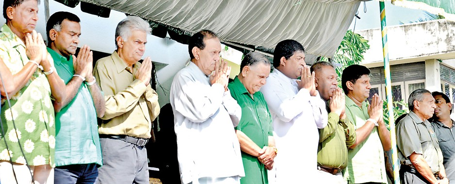 Blue New Year for the Rajapaksa regime