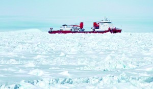 Xue Long, the Chinese icebreaker that went to the aid of a Russian ship stuck in heavy floes in Antarctica has now itself become trapped by ice (AFP PHOTO / FILES / Jessica Fitzpatrick / Australian Antarctic Division)