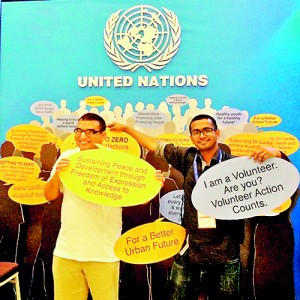 Wanting to make a change: Ishan at the UN