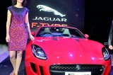 The all new F-TYPE Jaguar hits the roads
