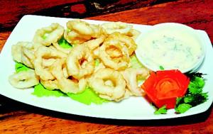 Cuttlefish rings. Pix by Mangala Weerasekera