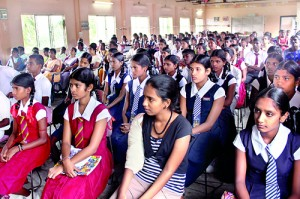 Distributing Educate Lanka scholarships in Mannar: 50 students were recipients