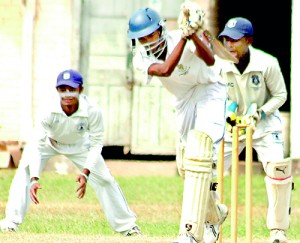 Action between St. Sebastian's and St. Benedict's from last week - File pic