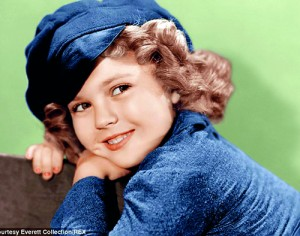 The greatest box-office star in Hollywood history: Shirley Temple, pictured in 1936. During 1934-38, the actress appeared in more than 20 feature films and was consistantly the top US movie star. Shirley Temple Black was US Ambassador to Ghana and to Czechoslovakia (AFP)