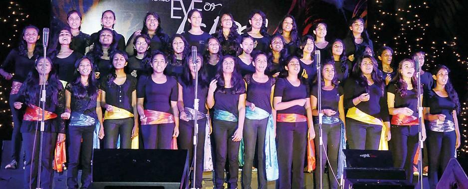 Voices raised in harmony