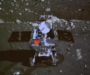 China's Jade Rabbit moon rover has endured a long lunar night but is still malfunctioning (Reuters)