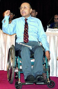 Dr. Ajith Perera: Fighting for accessibility for all