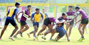 The presence of numbers at the Under-18 Schools 7s was ample testimony as to why the schools and the governing body must head in the same direction - Pic by Amila Gamage