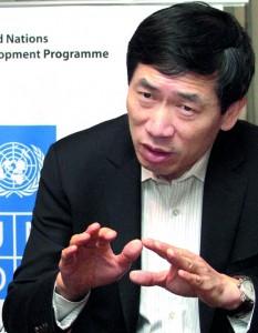 Haoliang Xu: The UN encourages reconciliation through development. Pic by Indika Handuwala