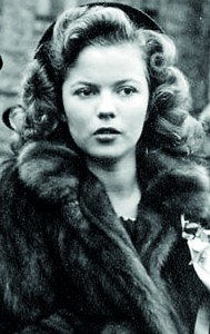 Shirley Temple pictured in 1944. She could not translate her stellar success as a child star into a film career as an adult and retired from the movie industry