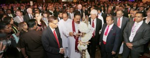 File picture of  the  inauguration of the CHOGM  Business Forum