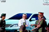 Pakistani cars for Army top brass