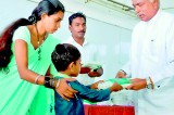Vidyalankara Montessori receives book donation