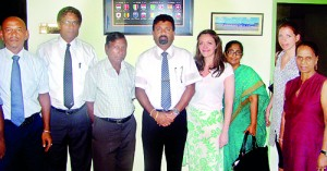 FFSL officials with EPL and British Council delegates