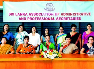 The 36th Annual General Meeting of the Sri Lanka Association of Administrative and Professional Secretaries was held on January 26, at the HNB Towers, Colombo 10.