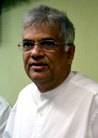 Opposition UNP leader Ranil Wickremesinghe demands that details of the project be tabled in Parliament