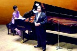 Japanese pianist and baritone in concert with Eshantha