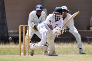 Richmond batsman Kavindu Mendis in action in their match against St. Joseph's  during the season. (File pic)