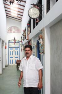 Owner Sarath Abeygunawardana