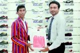 Dulaj honoured by Bata