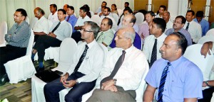Section of the audience. Pix by Hasitha Kulasekera