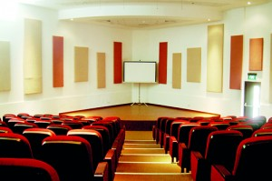 Triangular design: The state-of-the-art auditorium