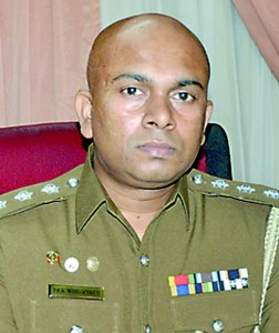 Officer in Charge of the Fraud Bureau  Chief Inspector P.P.A.  Wijenayaka