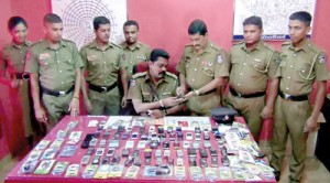Students have recently been accused of robbing mobile phones.    (File pic)