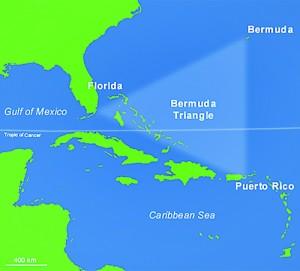 Bermuda triangle speech attention getter