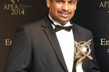 Sanji De Silva wins APEA  'Emerging Entrepreneurship Award'