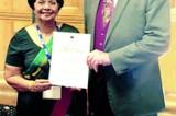STSD  award for Joy Fernando