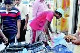 Eyes left, eyes right,  purses out – Avurudu  shopaholics hit the streets