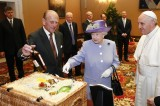 'I say, Your Holiness, do you fancy a drop of Balmoral whisky?